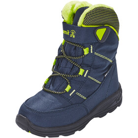 Kamik Stance Shoes Kinder navy lime-marine citron vert